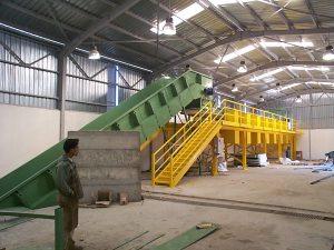 waste sorting plant fazzini meccanica